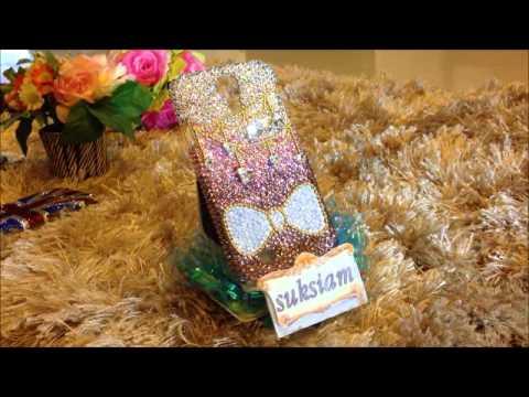 Case Samsung Galaxy S4 by Suksiam Hicases รับสั่งทำเคสซัมซุงกาแล็กซี่ติดเพชรสวยมาก