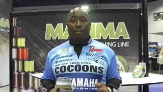 Maxima Ultragreen Braided Line with Ish Monroe | ICAST 2013