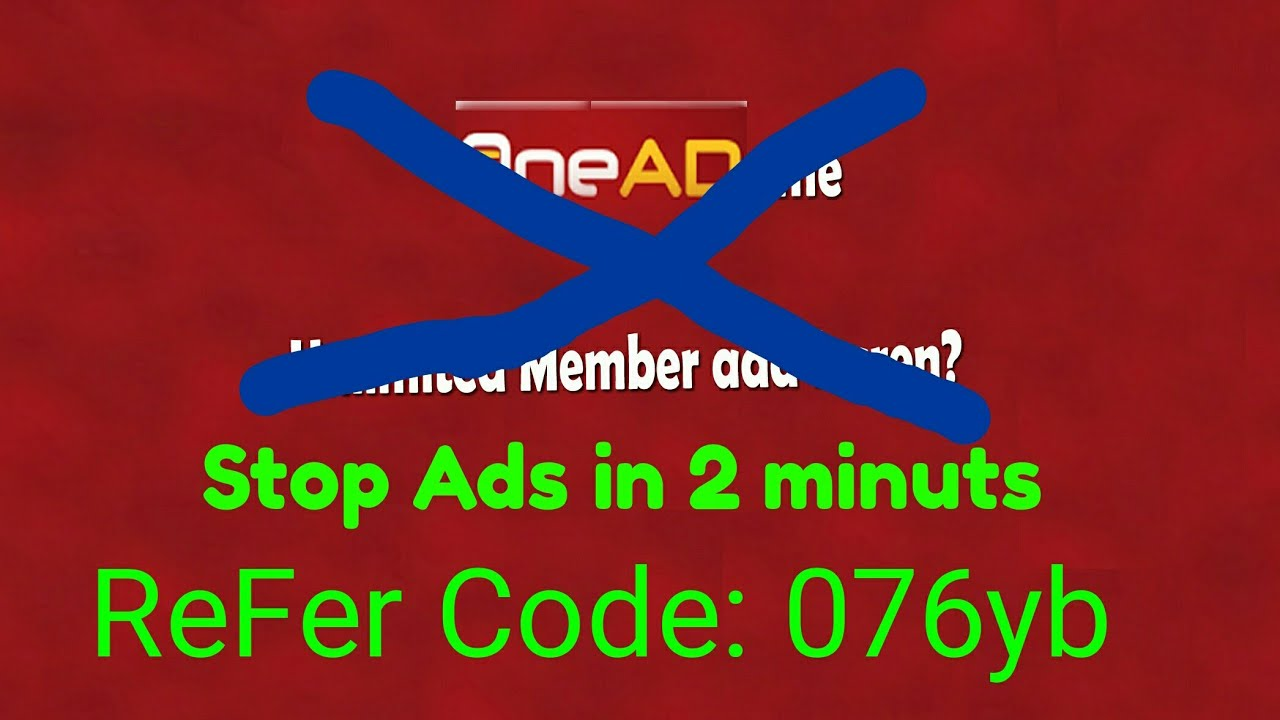 onead application ads stop in 2 minuts in hindi ads