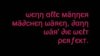 die ärzte - WAMMW (lyrics)