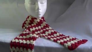 Scarf / Afghan / Blanket Crochet Tutoria...