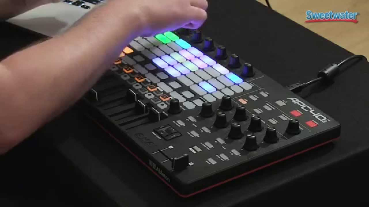 akai apc40 mkii control surface demo sweetwater sound youtube. Black Bedroom Furniture Sets. Home Design Ideas