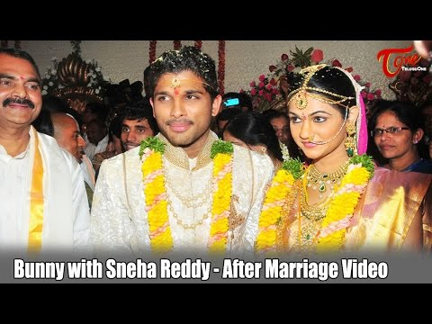 Bunny with Sneha Reddy - After Marriage Video