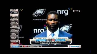 Mike Vick post Saints game about Marcus tweets