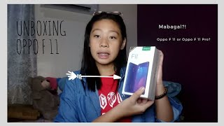 UNBOXING OPPO F11 + HONEST REVIEWS (mabagal?!) | philippines