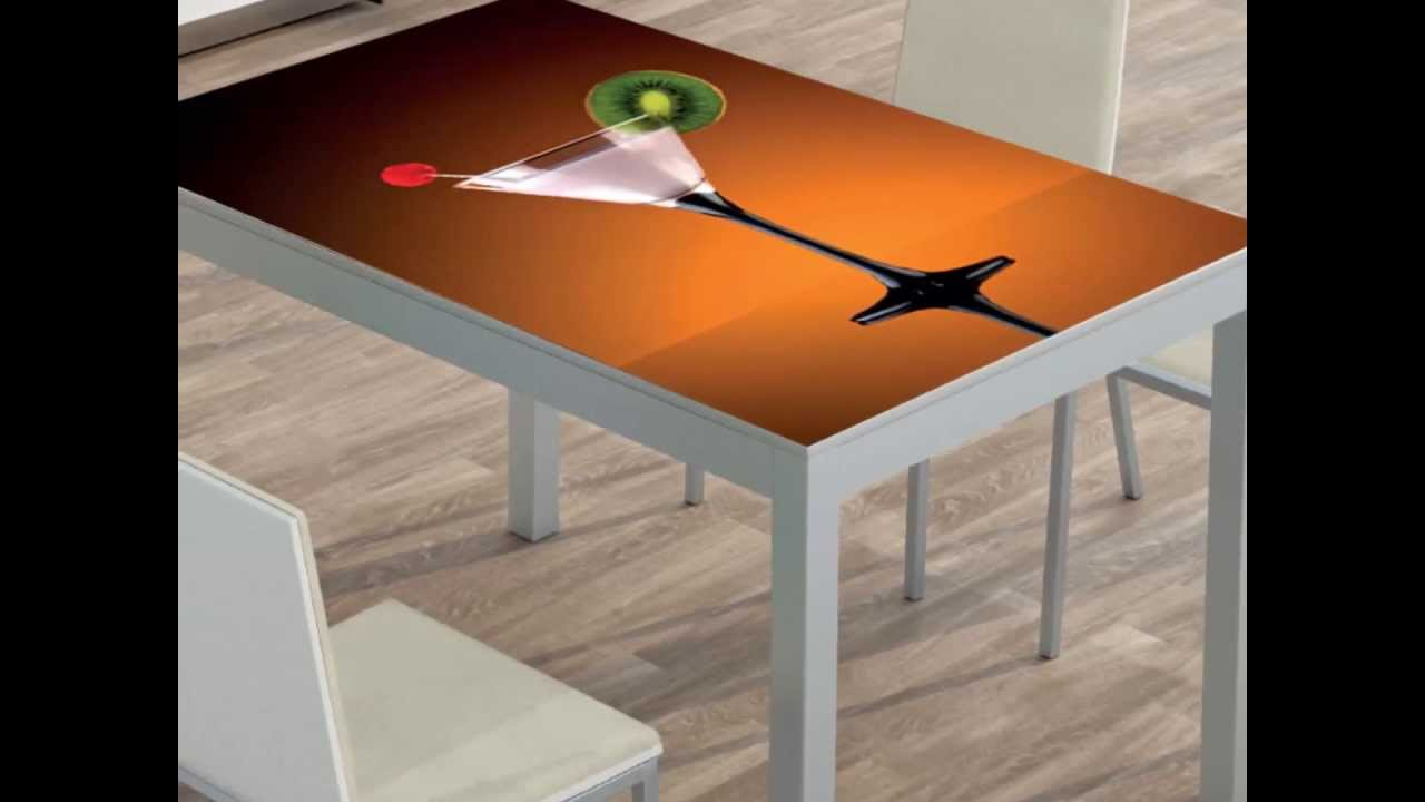 Mesas de cocina con foto youtube - Mesas de cocina economicas ...