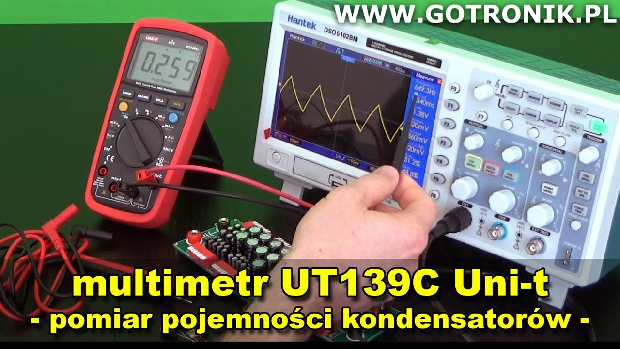 amazonka stabilna jakość kupować tanio UT139C pomiar pojemności kondensatorów