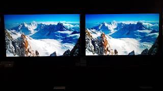 2018 Q7FN VS Q9FN Movie Mode 4K Hdr Samsung QLED
