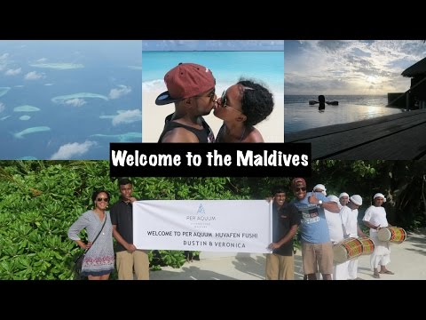Maldives Vacation Vlog: Welcome to the Maldives!!!!
