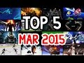 Top 5 Gaming Moments | March 2015 | Funniest Game Clips