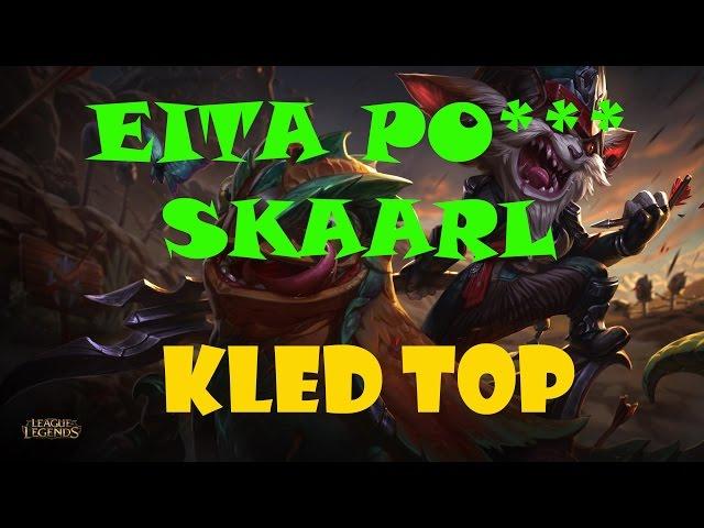 Novo Campeão Kled Gameplay - Liga das legendas