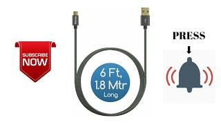 Unboxing iVoLTaa Micro USB Cable  & UBON Type - C Charging Adapter