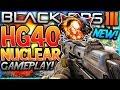 """COD BO3 """"TITRE EXPLOSÉ"""" Gameplay à la HG40 (FFA Nuclear)"""