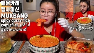 Capsaicin Spicy Curry *Dorothy Mukbang*