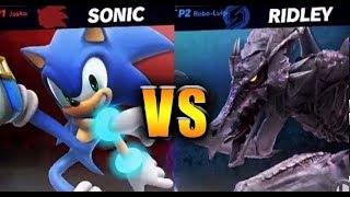 Super Smash Bros. Ultimate - Ridley vs Sonic