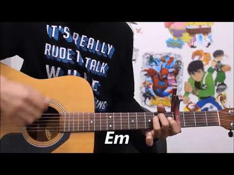 Thehar Ja - Armaan Malik -Hindi Guitar lesson chords beginners - October