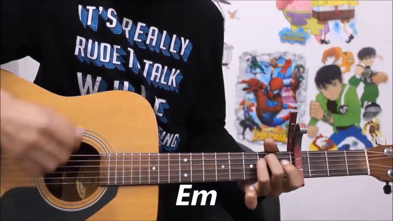 Thehar Ja Armaan Malik Hindi Guitar Lesson Chords Beginners