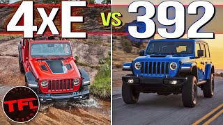 Jeep Wrangler 4xe vs. Wrangler 392: Is The V8 Or Plug-In Hybrid Right For You? S. 2 E. 9