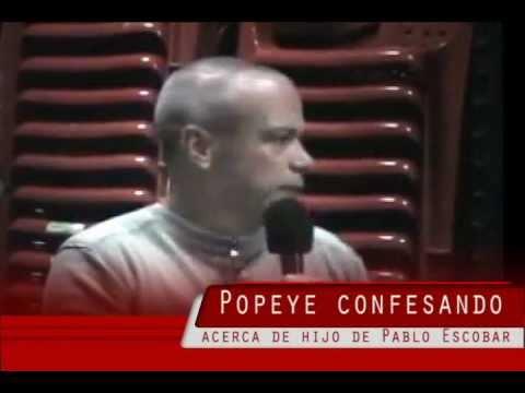 El hijo de Pablo Escobar segun Popeye