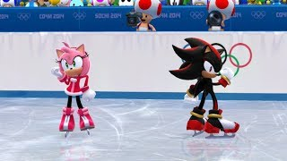 Mario and Sonic at the Sochi 2014 Olympic Winter Games: Figure Skating Pairs #15