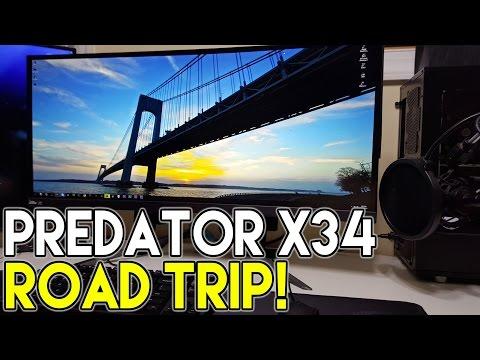 Acer Predator X34 Roadtrip | SloppyWetBlow Meeting