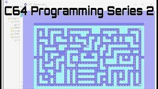 C64 - Erstellen eines Pac-man-Klon, Programmierung Serie 2 | CBM Prg Studio