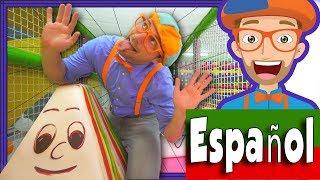 Blippi Español Juega y Aprende en el Parque de Juegos | Aprende los Colores thumbnail