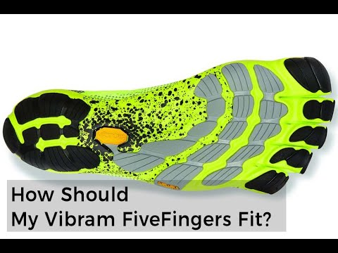 Vibram Fivefingers Easy Sizing/Fit Guide 2019