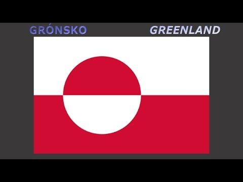 Flags of states of Realm of Denmark - Vlajky zemí Dánského království