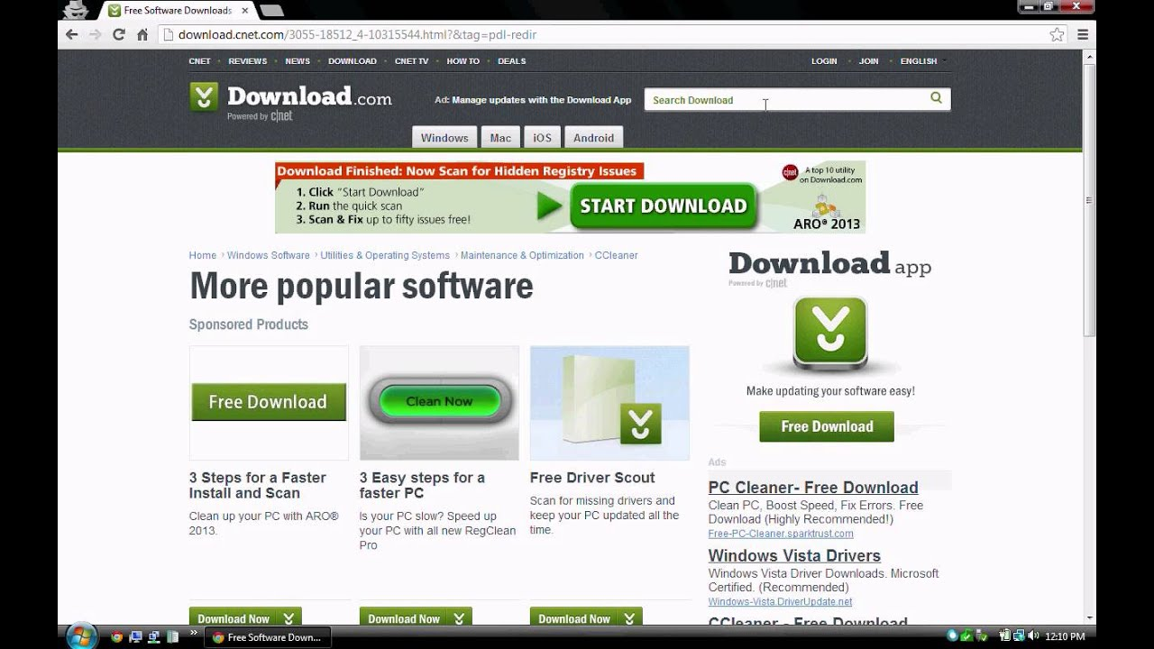 Speed up computer free software downloads
