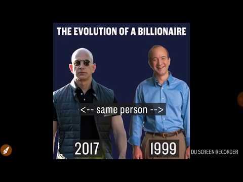 A AMAZON CEO Jeff Bezos Richest Billionaire Of 2017 Who Becomes World's No.1 Richest Man