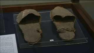 معرض جديد لاحذية المصريين القدماء بالمتحف المصرى بالقاهرة