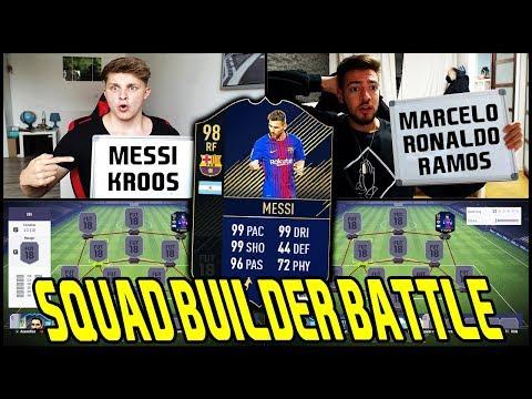 90+ DISCARD! ⛔️🔥 MESSI TOTY Prediction SQUAD BUILDER BATTLE vs. Wakez! ⚽ Fifa 18 Ultimate Team