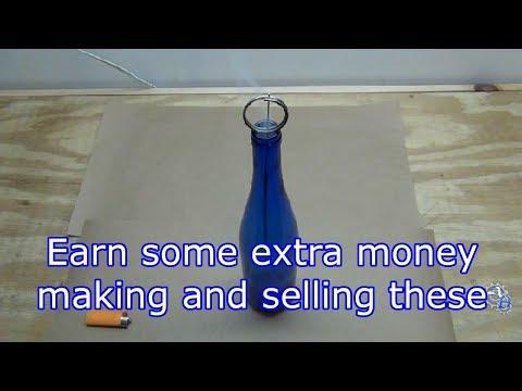 Earn Extra Money Making Wine Bottle Incense Holders
