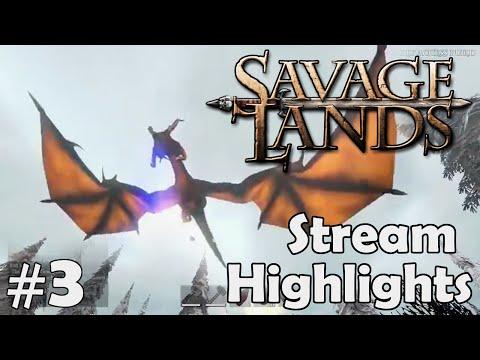 Savage Lands Stream Highlights #3 - Wolf Rock