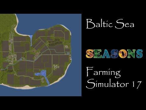 Farming Simulator 17 - Map First Impression - Baltic Sea