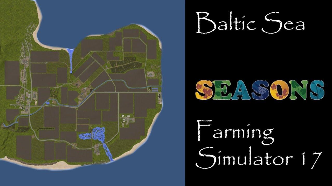 Farming Simulator 17 - Map First Impression - Baltic Sea - YouTube