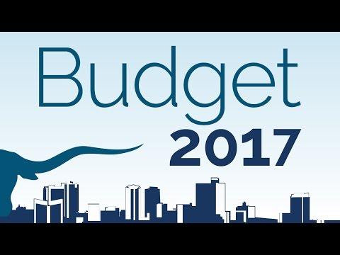 FY2017 Proposed Budget Presentation