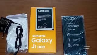UNBOXING SAMSUNG GALAXY J1 ACE ( SM-J111F/DS ) 8GB Black