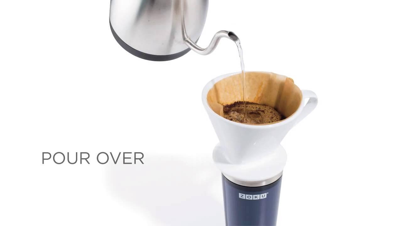 Iced Coffee Maker Zoku - Sweet Selection - YouTube