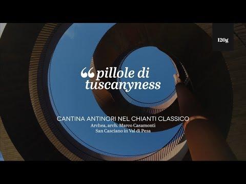 Pills of Tuscanyness - Cantina Antinori nel Chianti Classico (Archea, Marco Casamonti)