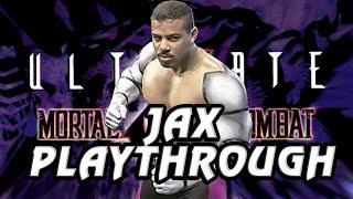 Ultimate Mortal Kombat 3 Arcade Jax Playthrough @720p 60fps thumbnail