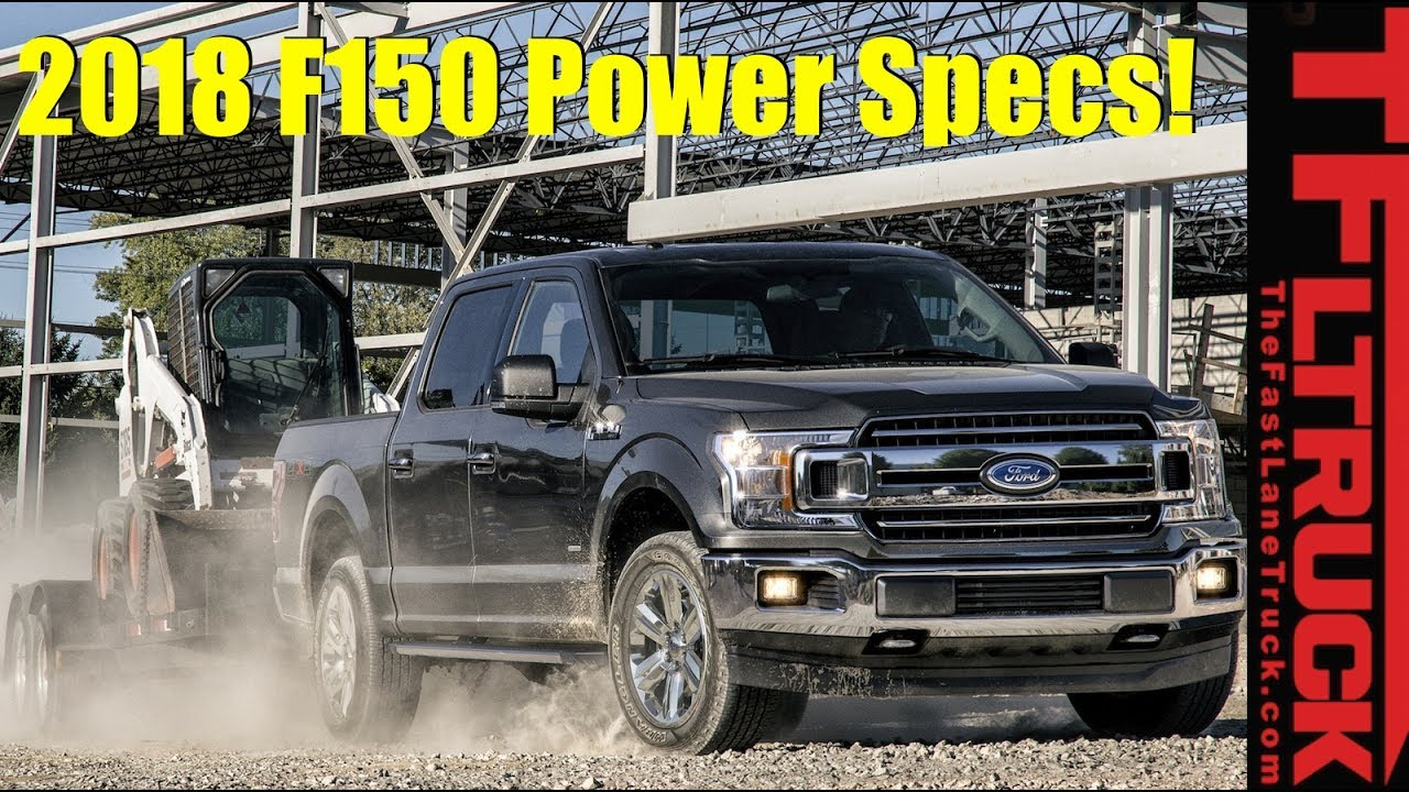 2018 Ford F-150: All Power Specs Announced - 5 0L Coyote V8