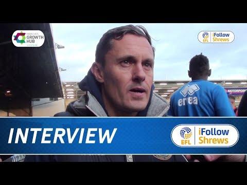 iNTERVIEW | Paul Hurst post Peterborough - Town TV