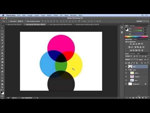 RGB vs. CMYK in Photoshop CC