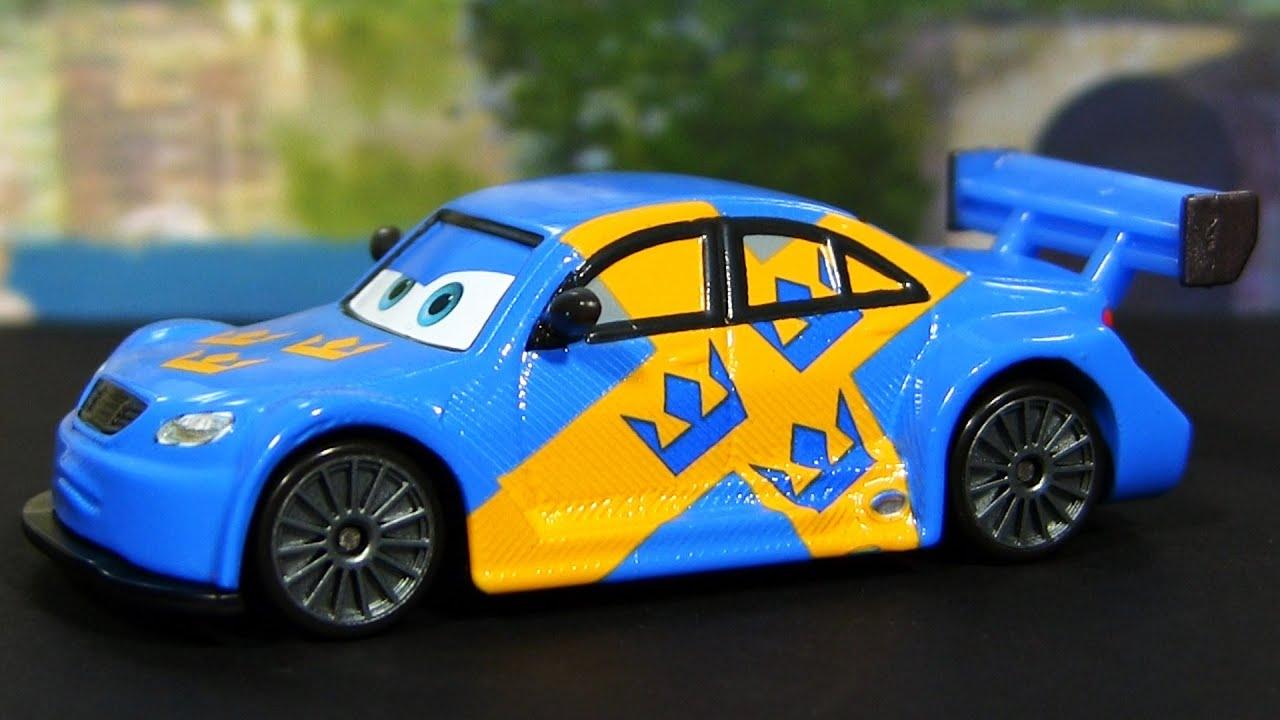 cars 2 jan flash nilsson ultimate super chase sweden disney pixar cars die cast youtube. Black Bedroom Furniture Sets. Home Design Ideas