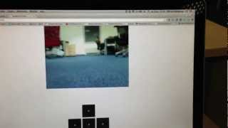 Raspberry Pi tank robot video streaming demo by Mircea Georgescu on YouTube