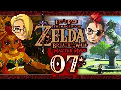 Let's Race: The Legend of Zelda: Breath of the Wild (Master Mode) - Part 7 - Kara Kara Bazaar