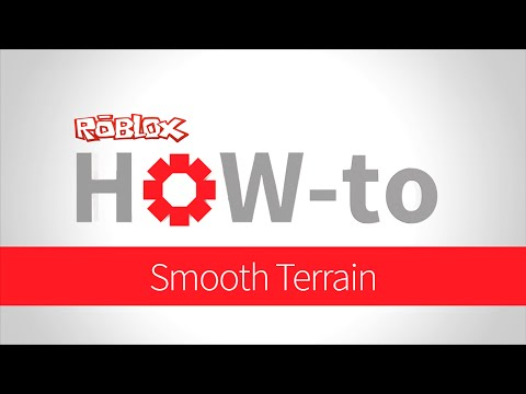 How-to: Smooth Terrain