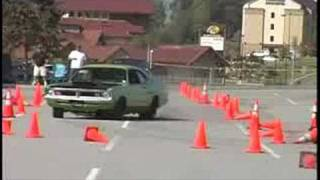 Dodge DEMON autocross video V8TV